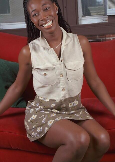 Clothed Ebony sex
