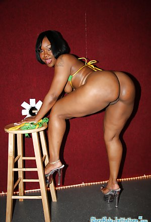 Big black booty ass anal xxx amateur sex in 8